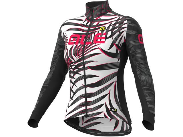 Alé Cycling Graphics PRR Sunset Maillot À Manches Longues Femme, white/black